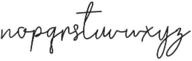 Golden Bridge Script Regular otf (400) Font LOWERCASE