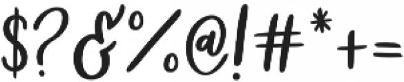 Golden Child otf (400) Font OTHER CHARS