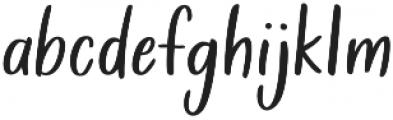 Golden Child otf (400) Font LOWERCASE