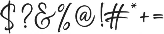 Golden Class Script otf (400) Font OTHER CHARS