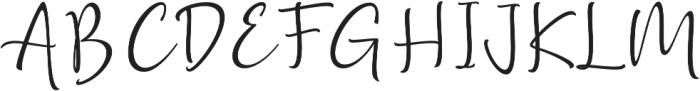 Golden Class Script otf (400) Font UPPERCASE