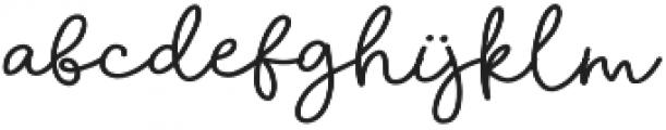 Golden Day otf (400) Font LOWERCASE