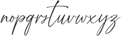 Golden Dream otf (400) Font LOWERCASE