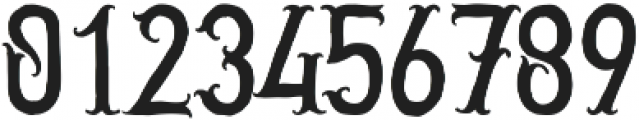 Golden Dust otf (400) Font OTHER CHARS