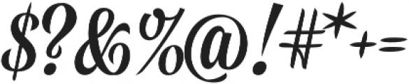 Golden Memory otf (400) Font OTHER CHARS