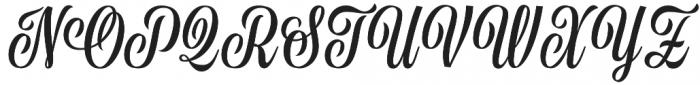 Golden Memory otf (400) Font UPPERCASE
