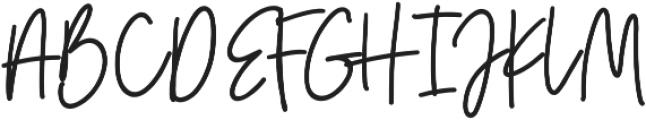 Golden Youth Script ttf (400) Font UPPERCASE