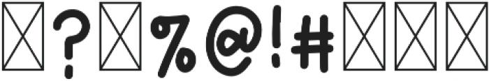 GoldenBars2 Regular otf (400) Font OTHER CHARS