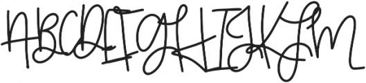 GoldenBars2 Regular otf (400) Font UPPERCASE