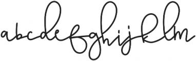 GoldenBars2 Regular otf (400) Font LOWERCASE