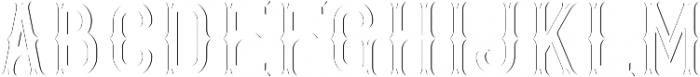 GoldenWhiskey Sh-Lt FX otf (400) Font UPPERCASE