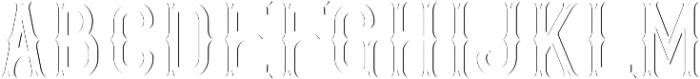 GoldenWhiskey Sh-Lt FX otf (400) Font LOWERCASE