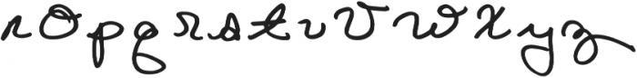 Goldenbee Regular otf (400) Font LOWERCASE
