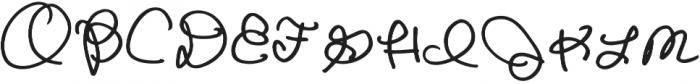 Goldenbee Regular ttf (400) Font UPPERCASE