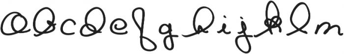 Goldenbee Regular ttf (400) Font LOWERCASE