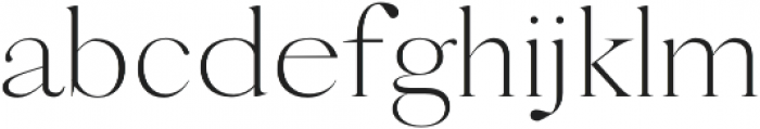 Goldengrove Regular otf (400) Font LOWERCASE