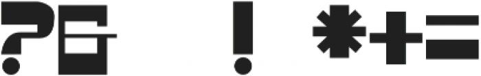 Goldes otf (400) Font OTHER CHARS