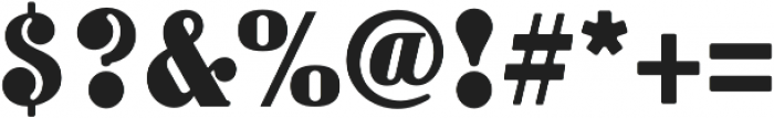 Goldpicker Regular otf (400) Font OTHER CHARS