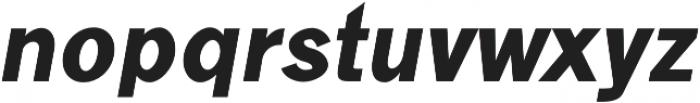 Goldsmith Black-italic otf (900) Font UPPERCASE