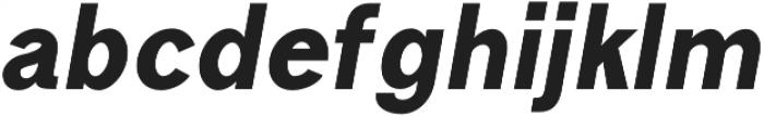 Goldsmith Black-italic otf (900) Font LOWERCASE