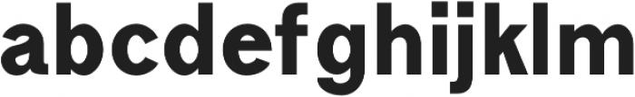 Goldsmith Black otf (900) Font LOWERCASE
