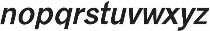 Goldsmith Regular-italic otf (400) Font LOWERCASE