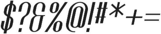 Golf Bold Italic ttf (700) Font OTHER CHARS