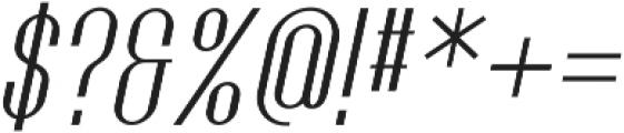 Golf Italic ttf (400) Font OTHER CHARS