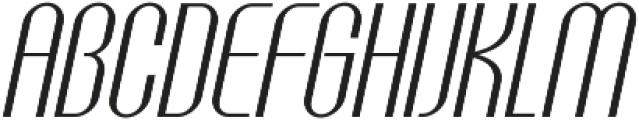 Golf Italic ttf (400) Font UPPERCASE