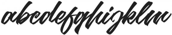 Goliath otf (400) Font LOWERCASE