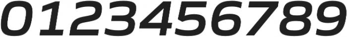 Gomme Sans SemiBold Italic otf (600) Font OTHER CHARS