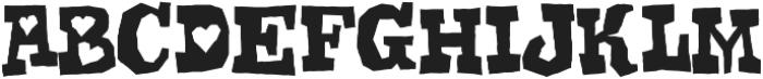 Gomoku Regular otf (400) Font LOWERCASE