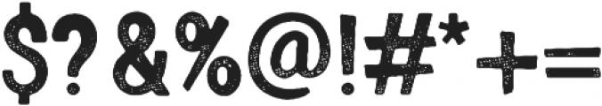 Gooberville Rough ttf (400) Font OTHER CHARS
