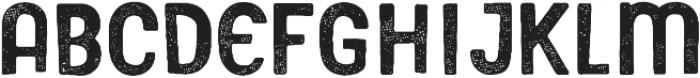 Gooberville Rough ttf (400) Font LOWERCASE