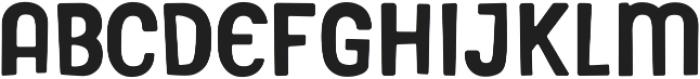 Gooberville Solid ttf (400) Font LOWERCASE