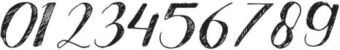Good Bye November otf (400) Font OTHER CHARS