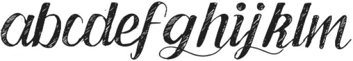 Good Bye November otf (400) Font LOWERCASE
