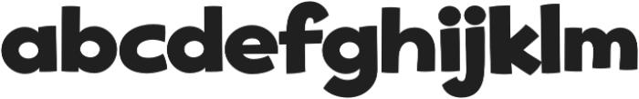 Good Eatin Pro AOE Regular otf (400) Font LOWERCASE