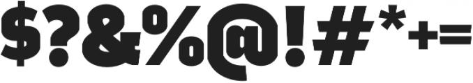Good News Sans Black otf (900) Font OTHER CHARS