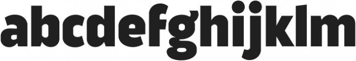 Good News Sans Black otf (900) Font LOWERCASE