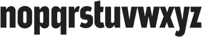 Good News Sans Bold Condensed otf (700) Font LOWERCASE