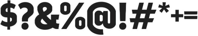 Good News Sans Bold otf (700) Font OTHER CHARS