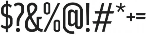 Good News Sans Light Condensed otf (300) Font OTHER CHARS
