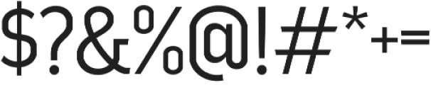 Good News Sans Light otf (300) Font OTHER CHARS