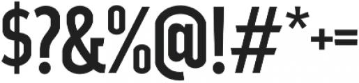 Good News Sans Regular Condensed otf (400) Font OTHER CHARS