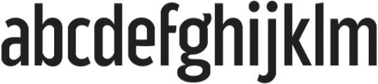 Good News Sans Regular Condensed otf (400) Font LOWERCASE