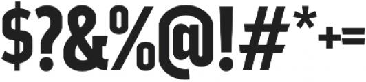 Good News Sans SemiBold Condensed otf (600) Font OTHER CHARS