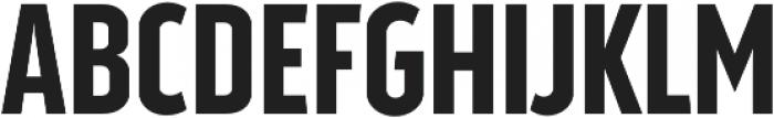 Good News Sans SemiBold Condensed otf (600) Font UPPERCASE