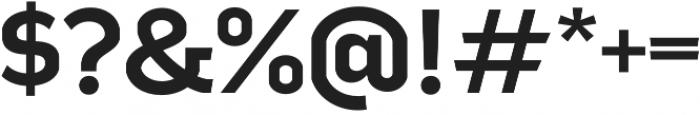 Good News Sans SemiBold Extended otf (600) Font OTHER CHARS