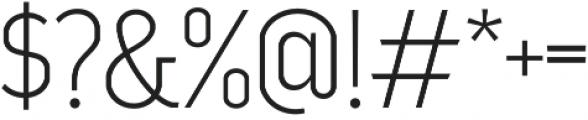 Good News Sans Thin otf (100) Font OTHER CHARS